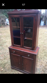 Antique small china cabinet in Providence, Rhode Island