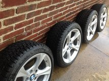 Set of 4 Winter Tires on BMW Wheels, 225/45R17 in Waldorf, Maryland