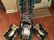 Chicco Keyfit 30 Seat, Stroller, and base in Fort Campbell, Kentucky