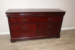 Cherry Wood Dresser in CyFair, Texas