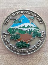military coin in Fort Irwin, California