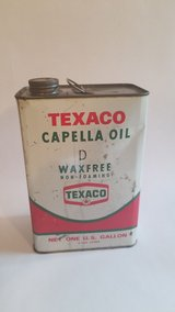 Vintage Texaco Oil Can Mancave Decor in St. Charles, Illinois