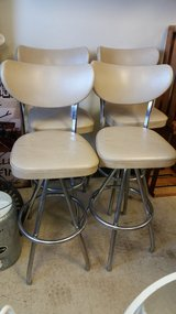 Vintage 1950's Bar Stools in Yorkville, Illinois