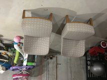 Two accent chairs in Chicago, Illinois