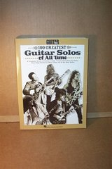 GUITAR WORLD 100 GREATEST GUITAR SOLOS BOOK in Chicago, Illinois