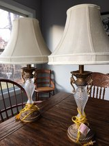 pair of lamps in Bartlett, Illinois