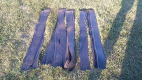 """19 Pieces of 4"""" tall x 4' long black Vinyl Wall Base Trim in Morris, Illinois"""