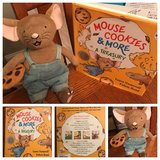 """""""If You Give a Mouse a Cookie"""" stuffed toy and 4 book collection in Warner Robins, Georgia"""