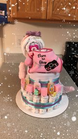unique baby shower gifts sets: diaper cakes in Bolling AFB, DC