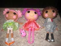 Lalaloopsy Dolls - Set of 3 in Elgin, Illinois