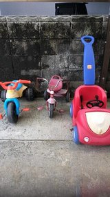 KIDS TRICYCLES in Okinawa, Japan