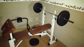 Bench Press Set in Spangdahlem, Germany