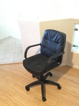 Black Leather Office chair in Alamogordo, New Mexico