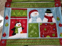 2 cute Xmas Placemats in Bolingbrook, Illinois