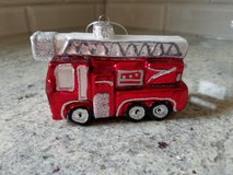 NEW Firetruck ornament in Westmont, Illinois