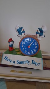 Vintage Smurf Alarm Clock in Fort Knox, Kentucky