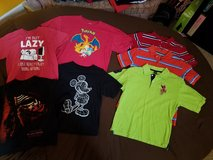 Boys sz 10/12 (L) shirt LOT in Warner Robins, Georgia