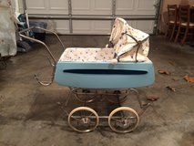 Doll Stroller, Vintage, Body of stroller is made from tin, not plastic. in Fort Leonard Wood, Missouri