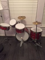 TKO 5 piece junior size drum set in Houston, Texas