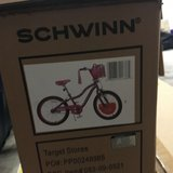 Girls new Schwinn bike in Oceanside, California