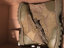 Size 12R usmc rat boots (new/never worn) in Camp Pendleton, California