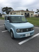 2003 Nissan Cube, JCI current until October 2019 in Okinawa, Japan