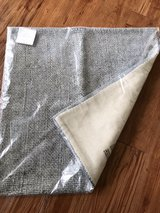 "pottery barn pillow cover 20"" gray in Okinawa, Japan"