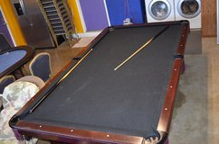 8ft Pool Table - Black felt in Camp Pendleton, California