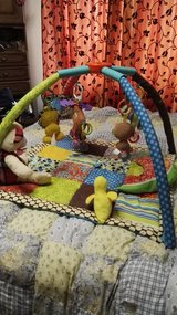 Baby play mat loaded with toys in Ramstein, Germany