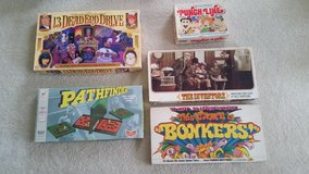 Assorted Board Games in Fort Meade, Maryland