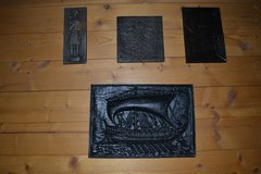 Cast iron signs set!!! Reduced! MUST GO! in Grafenwoehr, GE