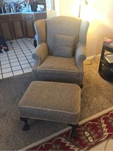 Chair and Ottoman in Alamogordo, New Mexico