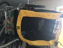 Like NEW! Burley Design Bee Bike Trailer, Yellow $175 in Naperville, Illinois