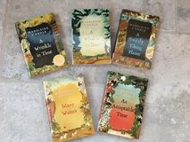5 Box Set of Madeleine L'Engle Books (Wrinkle in Time etc.) in Bolingbrook, Illinois