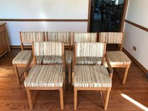6 Oak chairs in St. Charles, Illinois