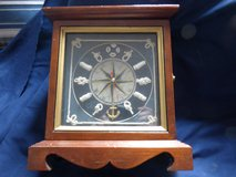 Nautical clock/key holder in DeKalb, Illinois