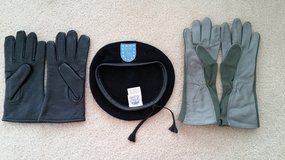 Various Gloves and Black Beret, NEW! in Fort Meade, Maryland