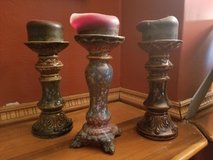 3 candle holders in Algonquin, Illinois