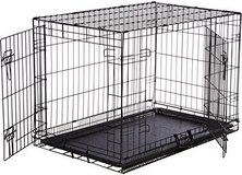 Metal dog crate brand new in Alamogordo, New Mexico