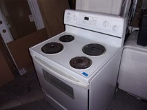 Estate White Electric Stove in Fort Riley, Kansas