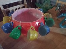 Colorful Punchbowl Set in Fort Polk, Louisiana