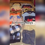 6 month old boy clothes in Fort Campbell, Kentucky