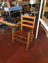 Antique Rocking Chair in Fort Polk, Louisiana