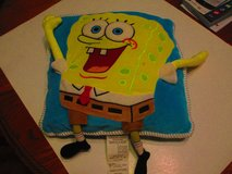 Spong Bob SquarePants Plush 3D Pillow 14 x 15 in Fort Campbell, Kentucky