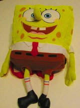 Nickelodeon Spongebob 3D Plush Stuffed Backpack Pillow 9x9x4 in Pleasant View, Tennessee