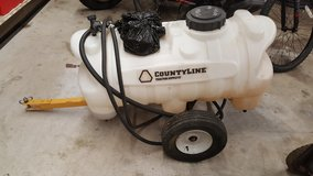CountyLine 30-Gallon Sprayer with 2.1 GPM Pump, Trailer, Sprayer hose & nozzle in Hopkinsville, Kentucky