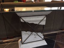 Glass and Stone Tables (3) in Bolingbrook, Illinois