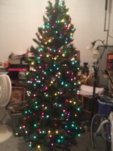 7.5 ft. Pre-lite Christmas Tree in Fort Campbell, Kentucky