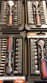 hyper tough 1/4 inch socket and bit set  3/16 -1/2 inch in Orland Park, Illinois