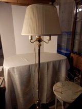4 light brass floor lamp in Aurora, Illinois